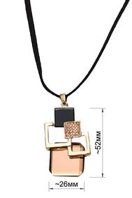 Модель Подвеска 93010 золото+янтарь Fashion Jewelry