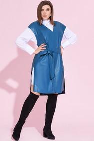 Модель 855 голубой Милора-стиль