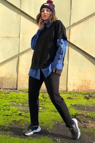 Модель 1441 сине-черный Runella