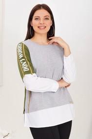 Модель 4599 серо-зеленый Emilia