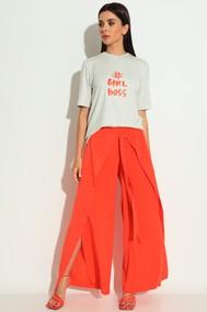 Модель 1241  серый, оранжевый Michel Chic