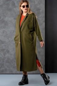 Модель 8001 зеленый+оранжевые тона  Deesses