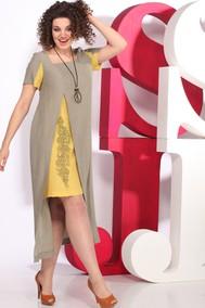 Модель D61 хаки+горчица Juliet Style