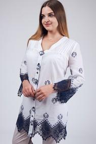 Модель 1809 белый с синим Sansa