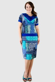 Модель 8592 синий+бирюзовый Aldani