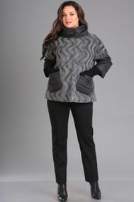 Модель 1032 серый - вертикальные волны Ива