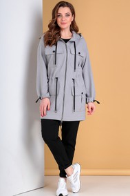 Модель 743 серый+черный Лиона-Стиль
