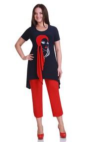 Модель 1111б сине-красный Andrea Style