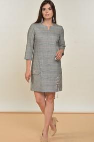 Модель 1549 Серый+розовый, клетка Lady Style Classic