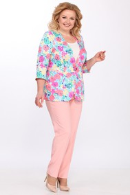 Модель 2629 розовый+цветы Lady Secret