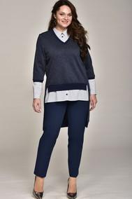 Модель 1528 Темно-синий Lady Style Classic