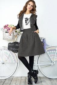 Модель 2863-А серый Niv Niv Fashion