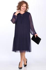 Модель 3622/1 синий+горохи Lady Secret