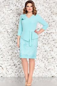 Модель 4568-3 бирюзовый Mira Fashion