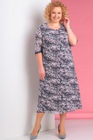 Модель 3195-6-С розовые цветы+серый Альгранда