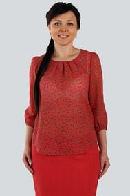Модель 1691A красные цветы Zlata