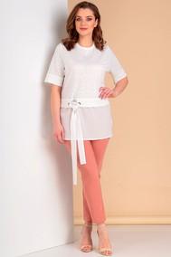 Модель 683 бело-молочный+персик Лиона-Стиль