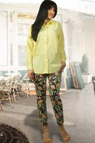 Модель 903 желтый+цветы МиА Мода