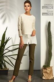 Модель 2939 коричневый Niv Niv Fashion