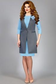 Модель 4383 голубой Mira Fashion