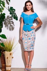 Модель 3635 голубой Lissana