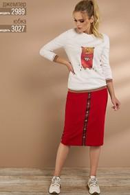 Модель 3027 красный Niv Niv Fashion