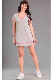 Модель 1281 серый+розовый Эдем