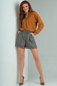 Модель 7027 серо-коричневый Viola Style