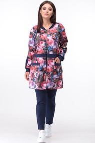 Модель 662 розово-синий Anastasia MAK