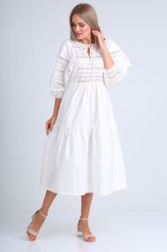 Модель 4072 белый белый FLOVIA