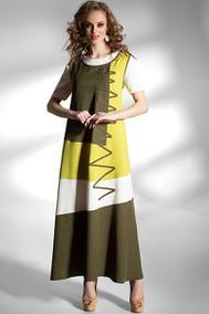 Модель 1105 желтый+белый+хаки Diva
