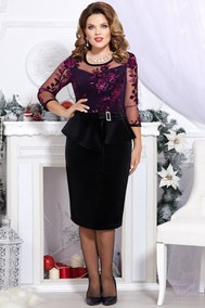 Модель 4540-3 фиолетовый Mira Fashion
