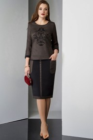 Модель 3211 коричневый оттенок Lissana