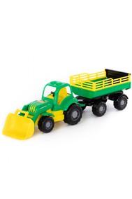 45034 Силач, трактор с прицепом №2 и ковшом