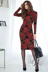Модель 2559 красные цветы Juanta