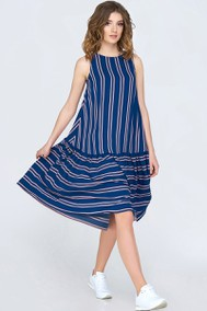 Модель 1135 синий+полоска Arita Style-Denissa