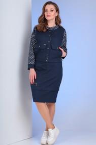 Модель 2648 синий джинс Viola Style