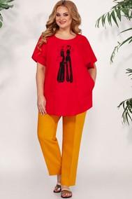 Модель 694 красный+оранжевый BAGIRA