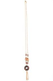 Модель Деревянные бусины коричневый Fashion Jewelry
