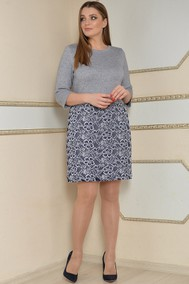 Модель 2008 Серый с синим Lady Style Classic