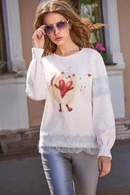 Модель 2892 белый Niv Niv Fashion