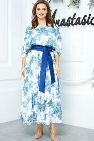 Модель 542 белый-синий Anastasia