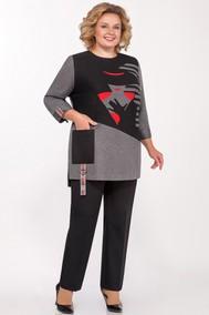 Модель 2017-1 серо-черный Emilia Style