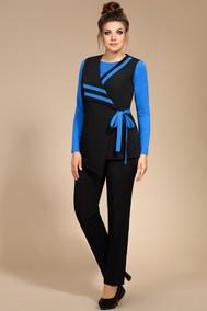 Модель 194 черный+голубой Мублиз