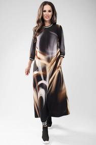 Модель 1432 коричневые разводы TEFFI style
