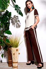 Модель 3437 коричневый Lissana