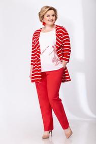 Модель 3566 белый с красным Эледи