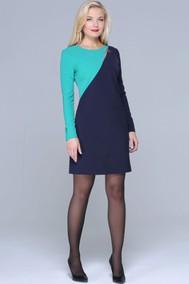 283-А зеленый/темно-синий Azzara