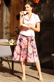 Модель 2103 розовый Мода-Юрс