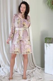 Модель D195-1 розовый в цветы Juliet Style